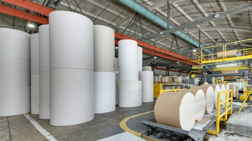 Calcium carbonate is widely used as a useful filler in the paper industry to enhance opaque paper's brightness