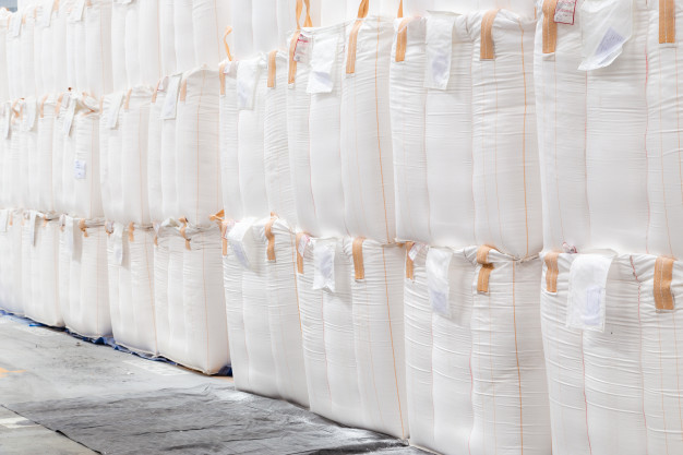Jumbo bags and FIBCs are the second largest sector of the raffia end-use market